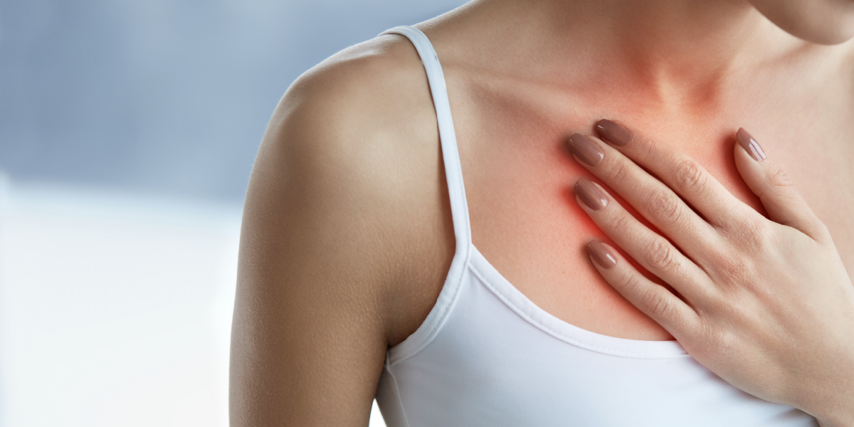 chest pain from alcohol withdrawal