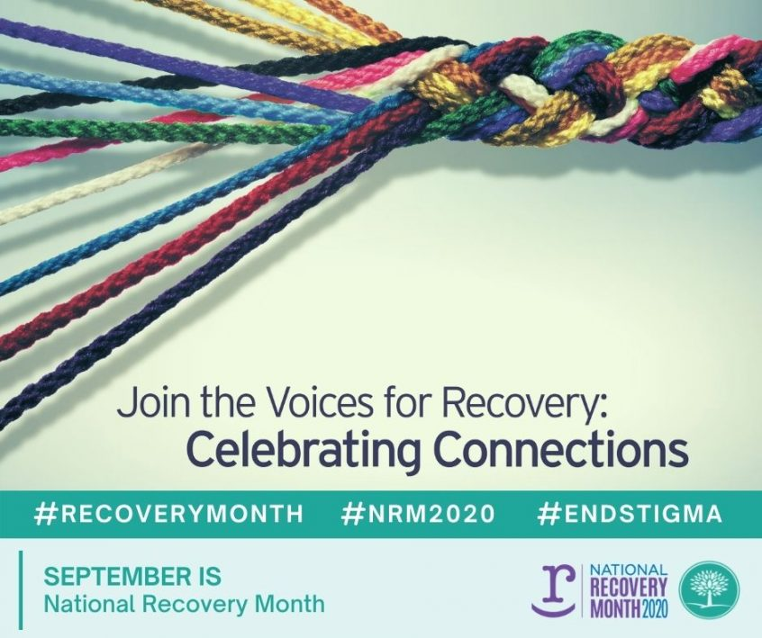 National Recovery month Annoucement